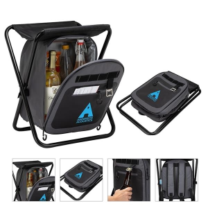 iCOOL® Cape Town 20-Can Capacity Backpack Cooler Chair